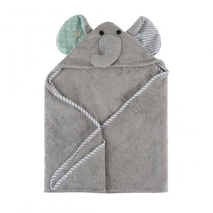 "Детское полотенце с капюшоном Zoocchini ""Слоник"""