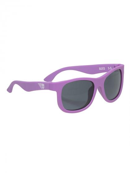 """Детские солнцезащитные очки Babiators Navigator """"Фиолетовое царство"""""""