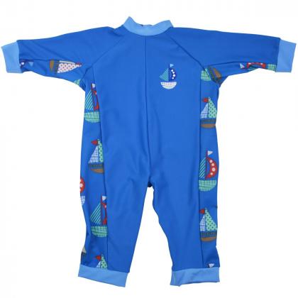 """Солнцезащитный костюм для малышей """"Кораблики"""""""