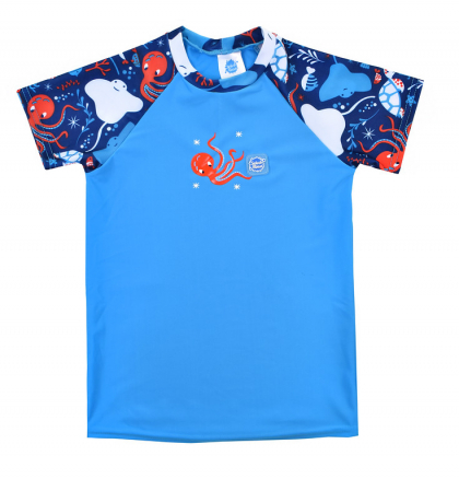 """УФ футболка """"Подводный мир"""""""