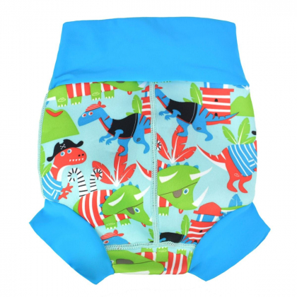 Плавки-подгузник Splash About Happy Nappy «Дино пираты»