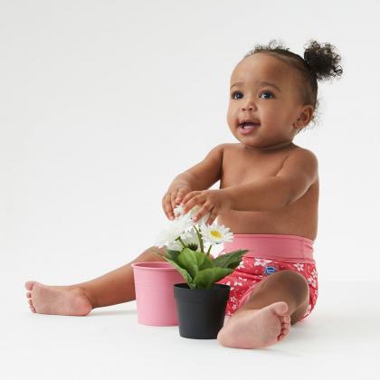Плавки-подгузник Splash About Happy Nappy «Розовый сад»