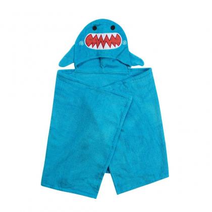 Полотенце с капюшоном Акула (от 2х лет)