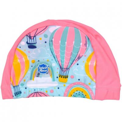 """Шапочка для плавания Splash About """"Розовые воздушные шары"""""""
