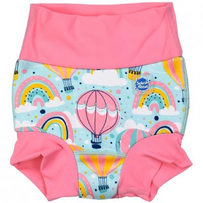 """Плавки-подгузник Splash About DUO  """"Розовые воздушные шары"""""""