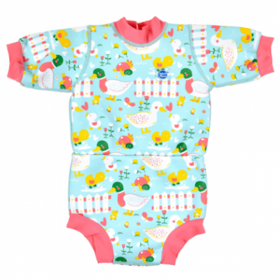 "Гидрокостюм-подгузник Splash About Happy Nappy ""Утята"""