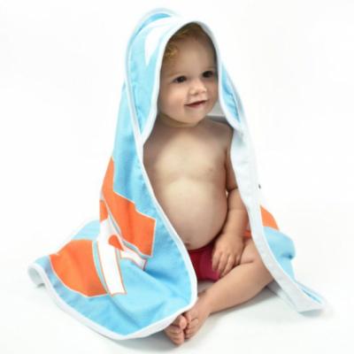 """Детское полотенце с уголком Splash About """"Зверята"""""""