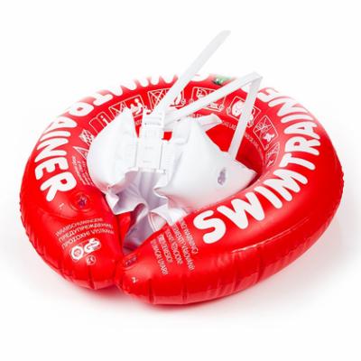 Надувной круг для плавания Swimtrainer Красный (от 3х месяцев до 4х лет)