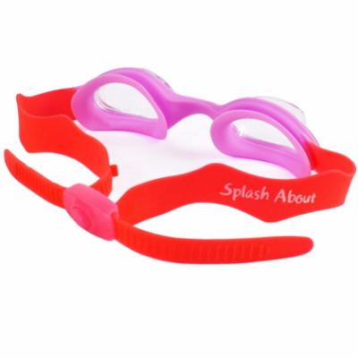 """Детские очки для плавания Splash About """"Розово-красные"""" (2-6 лет)"""