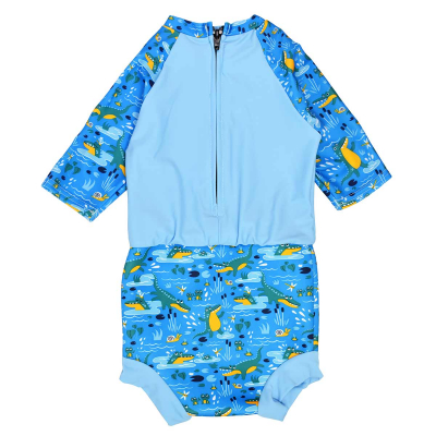 """Детский солнцезащитный комбинезон-подгузник Splash About """"Кроко"""""""