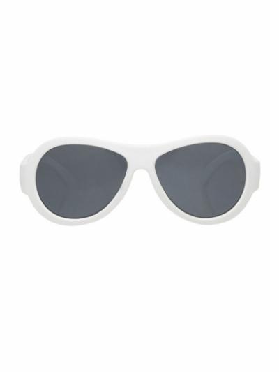 """Детские солнцезащитные очки Babiators Original Aviator """"Белые"""""""