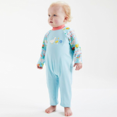 """Солнцезащитный костюм для малышей """"Утята"""""""