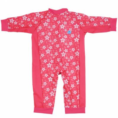 """Солнцезащитный костюм для малышей """"Розовый сад"""""""