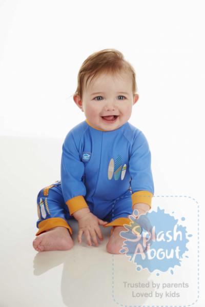 """Солнцезащитный костюм для малышей """"Серфер"""""""