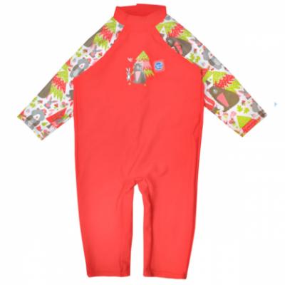 """Солнцезащитный костюм для малышей """"Лесные звери"""""""