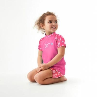 "УФ футболка Splash About ""Розовый сад"""