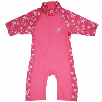"""Солнцезащитный костюм Splash About """"Розовый сад"""" 3/4"""