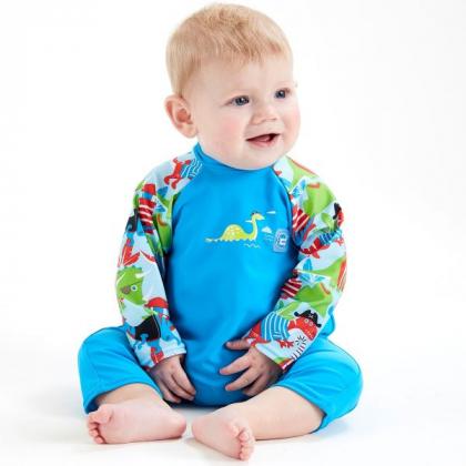 """Солнцезащитный костюм для малышей """"Дино пираты"""""""