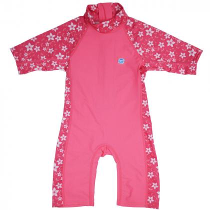 """Солнцезащитный костюм 3/4 """"Розовый сад"""""""